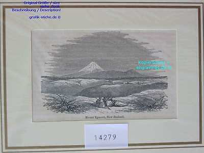 14279-Neuseeland-New Zealand-MOUNT EGMONT-TH-1880