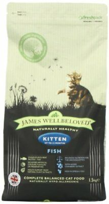 James Wellbeloved Kitten Food Fish and Rice 1.5 Kg
