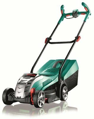 Bosch Rotak 32 LI Ergoflex Cordless Lawn Mower with 36 V Lithium-Ion Battery, Cu