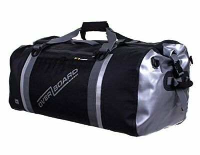 Overboard Pro-Sports 90 Litre Waterproof Duffel Bag - Black