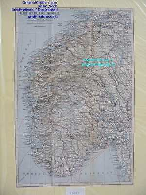 15669-Norwegen-Norway-KARTE-MAP-LM-1900