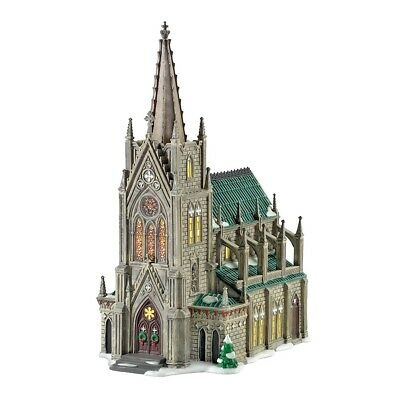 D56 Villages Christmas in The City Cathedral Of St Nicholas 30th 59248SE NIB