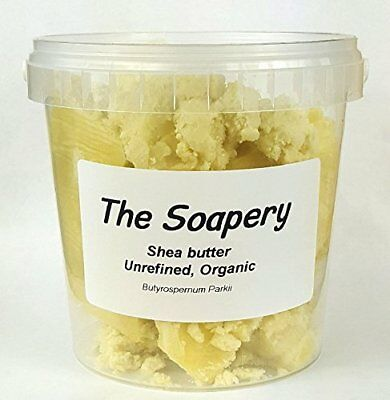 Shea butter 500g - Certified Organic, Unrefined, Raw, Natural - 100 Pure