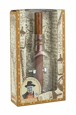 Great Minds Churchills Cigar and Whiskey Bottle Puzzle