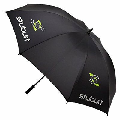 2015 Stuburt 66 Single Canopy Mens Golf Umbrella Black