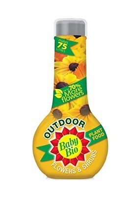 Baby Bio Outdoor Flowers and Shrub Feed, Concentrate - 750 ml