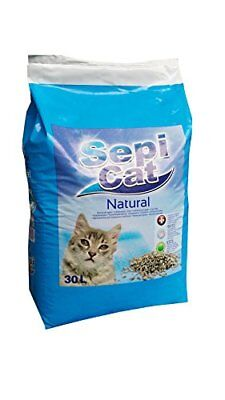 Sepicat Lightweight Non Clumping Cat Litter, 30 l