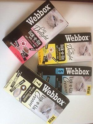 Webbox Lick-e-Lix Cat Treats - Variety Pack