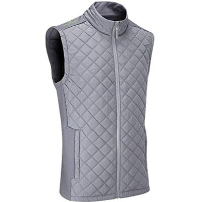 Stuburt 2017 Mens Endurance Sport Full Zip Padded Gilet - Storm - XL