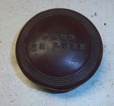 Flathead Ford 40 1940 Deluxe Steering Wheel early Horn Button  40 Passenger