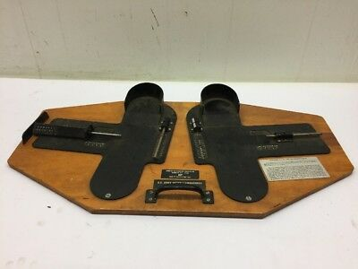 American Identification Product, Inc. Foot Measuring Device 1982