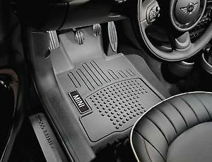 Oem Mini Cooper Hardtop Convertible All Weather Rubber Floor Mats