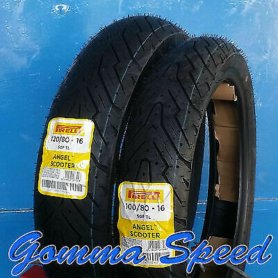 Gomme scooter 100/80/16 + 120/80/16 Pirelli Angel Scooter per Honda SH 125 150
