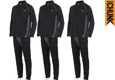 Fox NEW Chunk Base Layer Thermal Undersuit Set Carp Fishing CPR464 - All Sizes