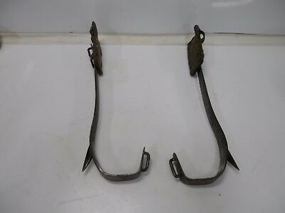 USED Buckingham Tree Pole Lineman Climbing Spikes Gaffs, Binghamton NY