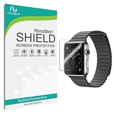 Apple Watch Series 3 42mm Screen Protector Sport HD Invisible Clear Shield 6 Pcs