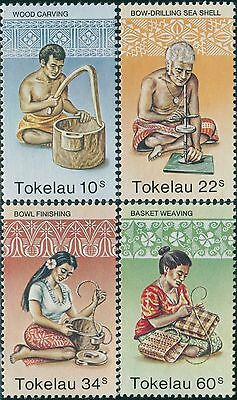 Tokelau 1982 SG81-84 Handicrafts set MNH