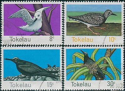 Tokelau 1977 SG57-60 Birds set FU