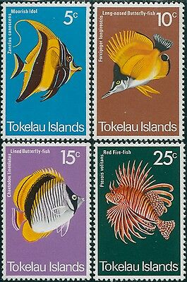 Tokelau 1975 SG45-48 Fish set MNH