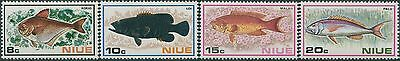 Niue 1973 SG175-178 Fish set MNH