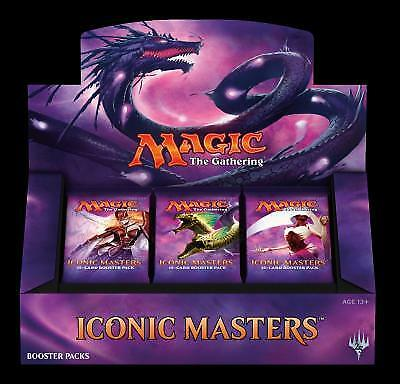 Iconic Masters Booster Box (Factory Sealed) MTG - PREORDER!