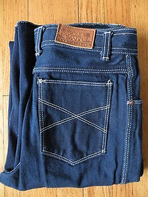 """Vtg Women's Made In The Shade Jeans No Hem Disco 30"""""""