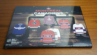 MONTRÉAL CANADIENS 1956-Present Wall Plaque Decor Murale Décorative NHL