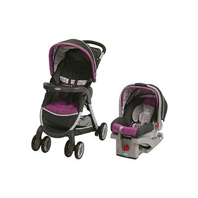 Graco Fastaction Fold Click Connect Travel System, Nyssa
