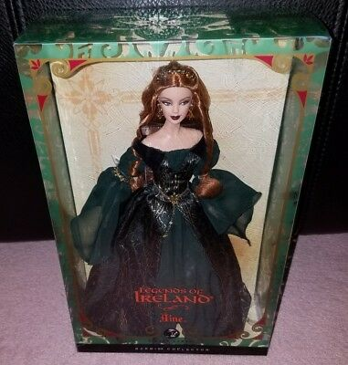 Celtic Barbie Legends Of Ireland Aine Model Muse Mackie Redhead Silver Label REA
