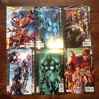 Marvel The Ultimates 2  #1-6
