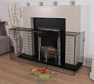 Fire Guard Screen Baby Safety Fireplace Child Large Extending Extendable Folding