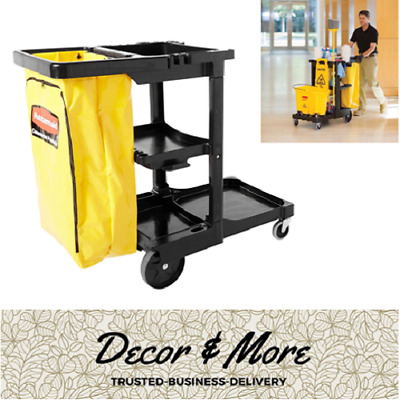 Commercial Custodian/Janitor Maintenance Cleaning Supplies Utility Tool Cart