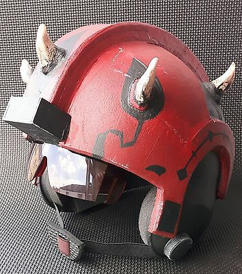 Star Wars. Darth Maul. X-Wing Pilot's Helmet. Free nerf gun. Cosplay or Display