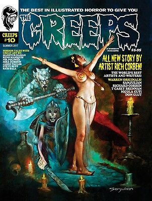 The Creeps Magazine #10 Horror Comic In The Warren Tradition, Eerie, Creepy Book