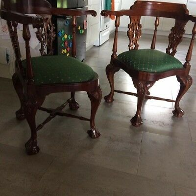 19TH Century Corner Chairs. Excellent condition. Price shown is for each