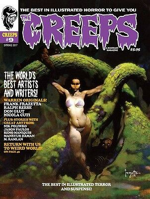 The Creeps Magazine #9, Creepy Eerie Vampirella Zombie Monster Horror Comic Book