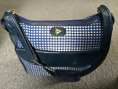 CATHAY PACIFIC AIRLINES Cabin Flight Attendant Stewardess Vintage Hand Bag Purse
