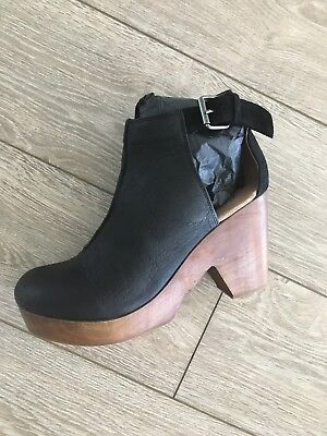 Free People Amber Orchard Clog in Black Brand New in Box *ALL SIZES*