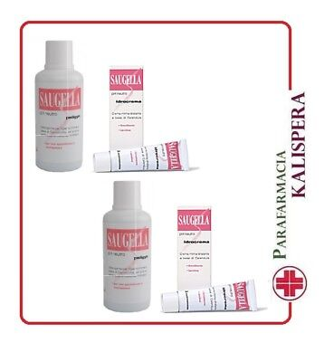 2 Saugella Poligyn 500+Idrocrema 10Ml In Regalo Ph Neutro Menopausa Irritazione