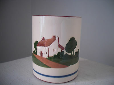 Vintage Dartmouth Pottery - Mottoware - Daunee Be Fraid O It Now Pot Holder