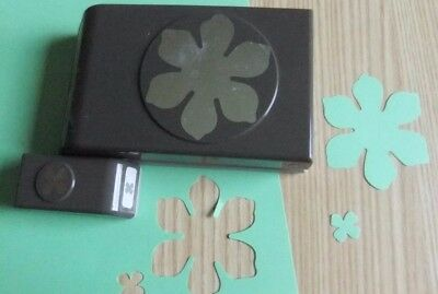 Stampin Up Paper Craft Punch ~ Large Fun Flower & Mini Punch ~ A5