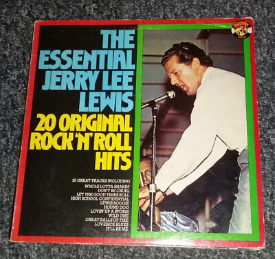 Jerry Lee Lewis The Essential Jerry Lee Lewis: 2... POL vinyl LP  record