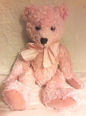 Pink Teddy Bear by Russ 'Brianna' Vintage Collectable