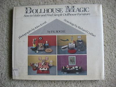 Vtg Dollhouse Magic: How to Make & Find Simple Dollhouse Furniture by PK Roche