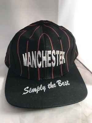 Vintage MANCHESTER UNITED Simply The Best Retro Snap Back