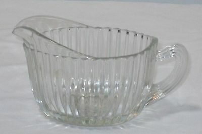 Anchor Hocking QUEEN MARY CRYSTAL *OVAL CREAMER*
