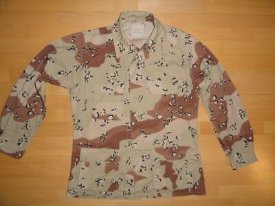 US ARMY 6-color DESERT STORM MEDIUM LONG COAT JACKET, UNIFORM 1990 BDU DCU USMC