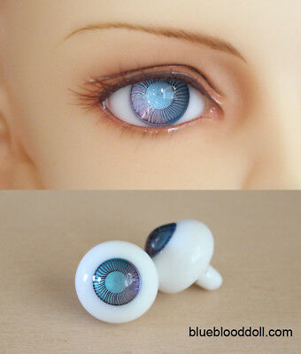 14mm bjd glass doll eyes two shades colors dollfie iplehouse luts #CH-11 ship US