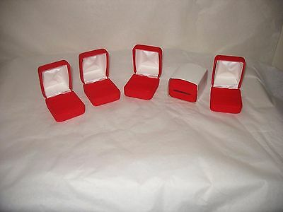 Lot of 5 Jewelery Boxes New