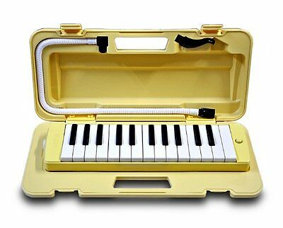 YAMAHA Pianica P-25F Cream Yellow NEW Melodica Melodyhorn from Japan F/S